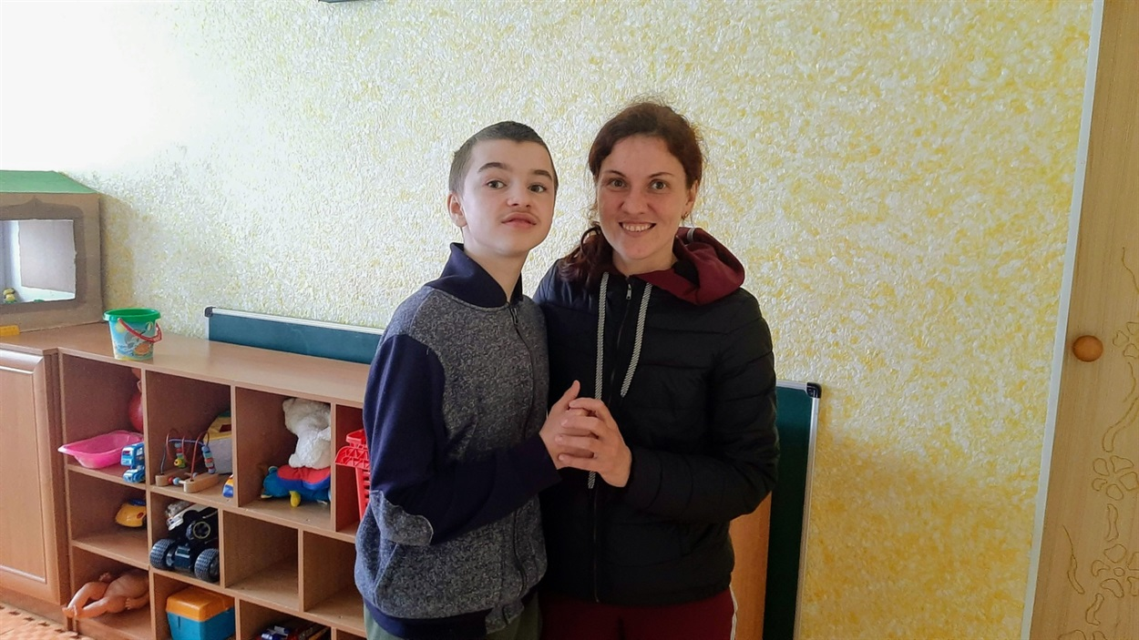 Вікторія з сином