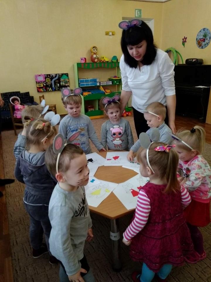 Наталія Біркун з вихованцями