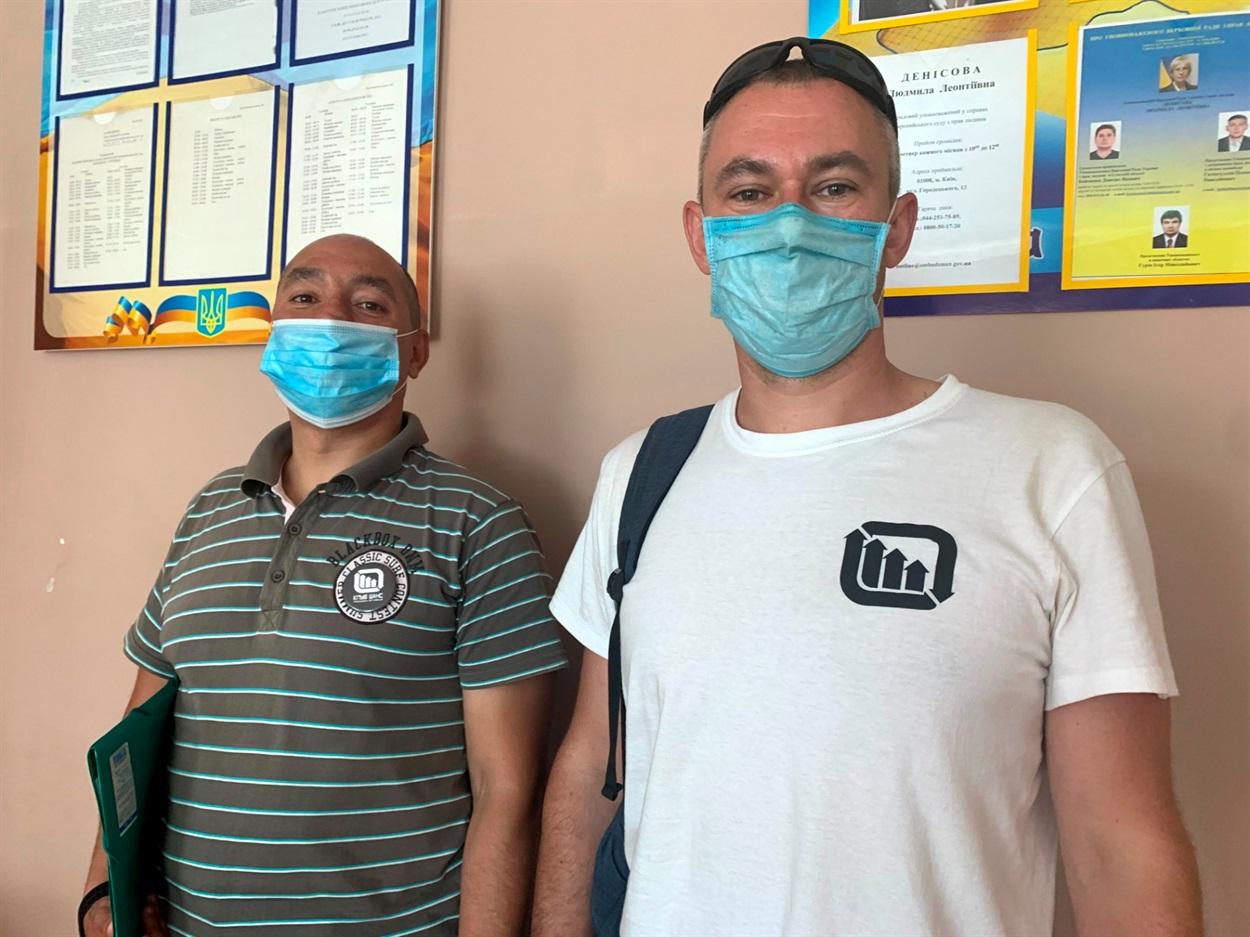Анатолій Поздєй (ліворуч) та Олександр Казнієнко (праворуч)
